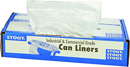 STOUT by Envision STO-L4046C10 LLDPE ProPerformance Can Liners, 40