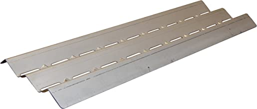 Music City Metals 99041 Stainless Steel Heat Plate Replacement for Select Gas Grill Models by Broil King, Broil-Mate and Others