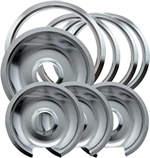 chrome drip pans and trim rings