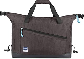 Travel Duffle Bag Expandable Weekender Bag Anti-Theft Overnight Bag Carry-on Shoulder Bag with Shoe Bag, 40L