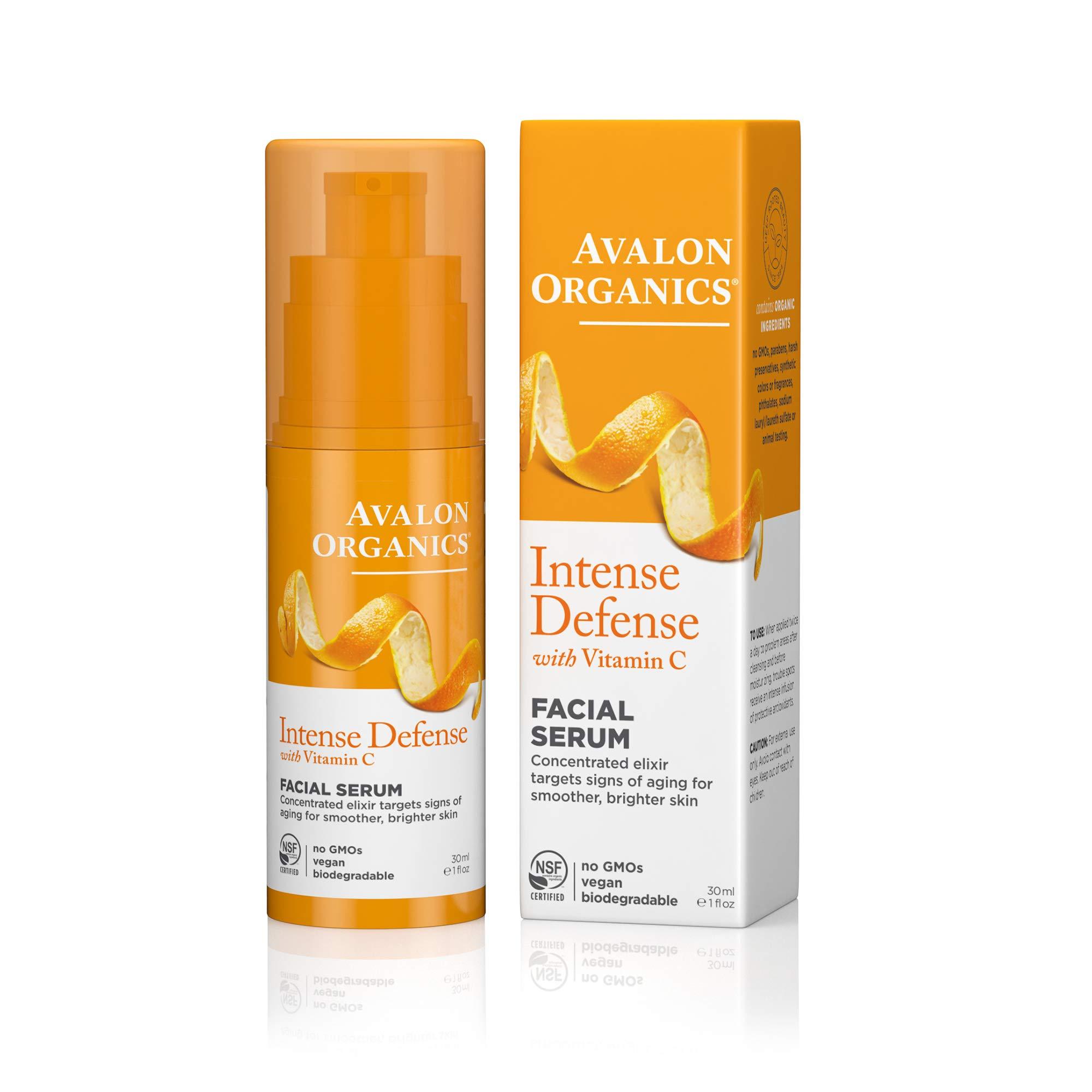 Avalon Organics Intense Defense Facial