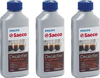 Saeco Decalcifier for Espresso Coffee Machines, 250 ml, Pack of 3