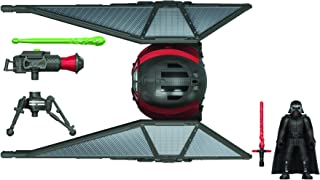 Star Wars Mission Fleet Stellar Class Kylo Ren TIE Whisper Desert Pursuit 2.5-Inch-Scale Figure and Vehicle, Toys for Kids...