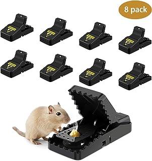 Awroutdoor 8 PCS Trampa Ratones, Trampas para Ratas,