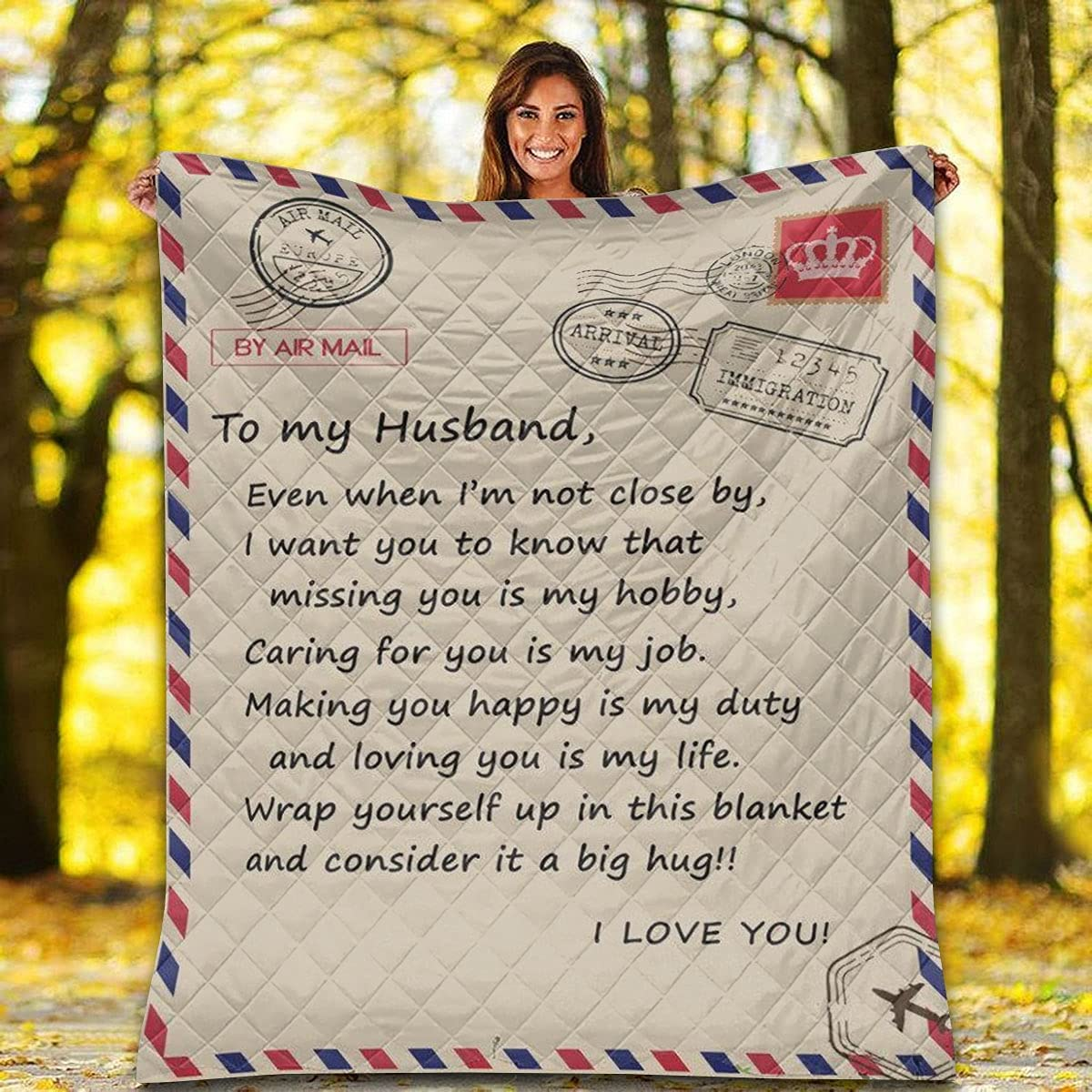 Airmail Lover Quilt - Ranking TOP13 to My Caring is 2021 model You for Husband