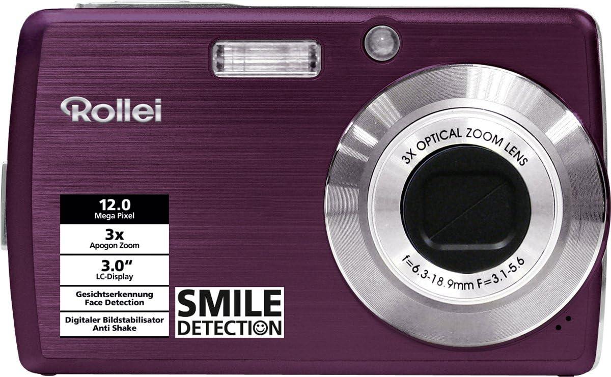 Rollei Compactline 200 Digitalkamera 3 Zoll Titan Kamera