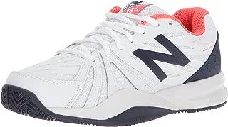 Women's 786v2 Tennis Shoe, Vivid Coral/White, 12