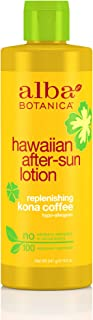 Alba Botanica Hawaiian, Kona Coffee After-Sun Lotion, 8.5 Ounce