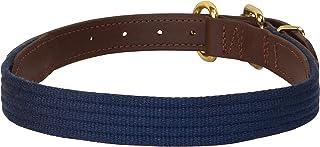 Perri's DC800 Beta/Cotton Dog Collar, X-Large, Navy/Brown