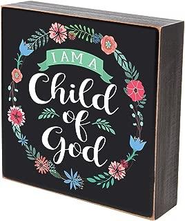 LifeSong Milestones I am a Child of God Wall Art Decor Print Christening Baptism Gifts Decoration
