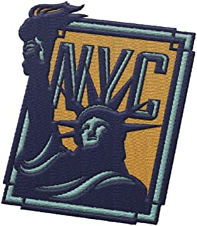 New York City NYC Travel Patch - Statue of Liberty / Great souvenir for backpacks and luggage / Backpacking and travelling badge.