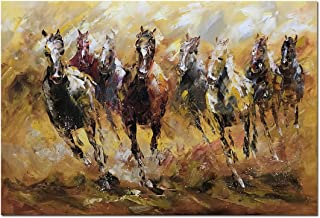 western oil painting