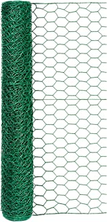 Origin Point 100050568 20-Gauge 1-inch Green Vinyl Hex Netting 24inx25ft, 24