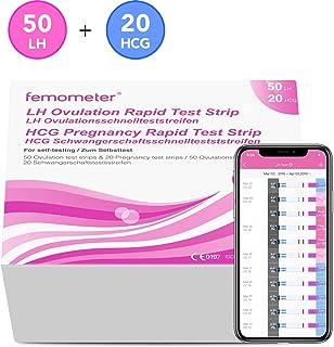 Femometer 50 test de ovulación y 20 test de embarazo