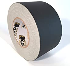 Gaffers Tape - 3 inch by 60 yards - Black - Main Stage Gaff Tape - Matte Finish - Easy to Tear by Hand