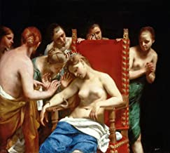 Guido Cagnacci Death of Cleopatra 1658 Kunsthistorisches Museum 30