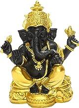 F Fityle Rare Lord Ganesha Figurine Hindu Elephant God Buddha Statue Home Living Room Mandir Diwali Table Feng Shui Decora...