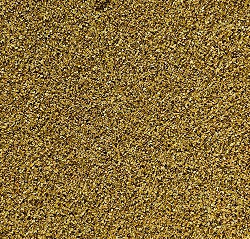 Rhinestone Paradise Dekosand Gold 600g Quarzsand Goldener Deko Sand Streusand Streudeko Gold Sand Streusand Tischdeko Dekorationssand