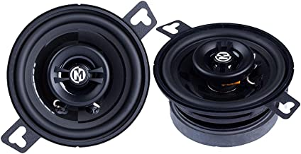 Memphis Audio PRX3 Power Reference Series 3 Inch 15 Watt RMS 30 Watt Peak Power Car Audio Coaxial Speaker System photo