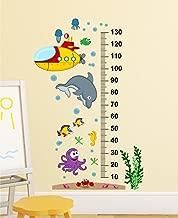 Wallstick 'Kids Height Chart' Wall Sticker (Vinyl, 49 cm x 4 cm x 4 cm)