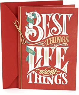 Hallmark Christmas Card (The Best Things In Life)