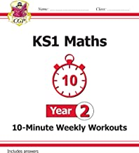 New KS1 Maths 10-Minute Weekly Workouts - Year 2 (CGP KS1 Maths)