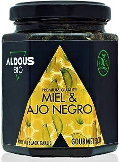 Auténtica Miel Ecológica con Ajo Negro Ecológico | Producto Gourmet | 100% Natural y Artesanal | Sin Azúcar Añadido | Prod...