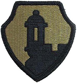 1st Mission Support Command Multicam Patch