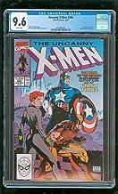CGC 9.6 UNCANNY X-MEN #268 MARVEL COMICS 1990 CAPTAIN AMERICA BLACK WIDOW