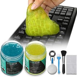 MECO Cleaning Gel Universal, Dust Cleaner Gel with 5 Keyboard Cleaning Set, Detailing Cleaning Gel for Keyboards, Car Dash...
