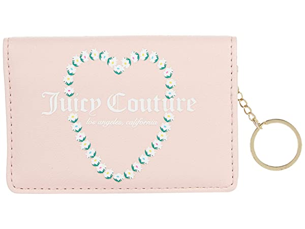 Juicy Couture Oops A Daisy Fold-Over Card Case