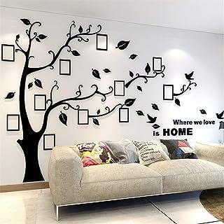 Unitendo 3D Acrylic Wall Stickers Photo Frames FamilyTree Wall Decal Easy to Install..