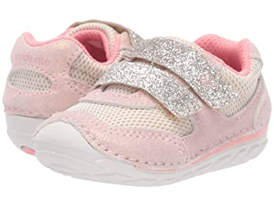 Stride Rite SM Mason (Infant/Toddler) (Taupe/Coral) Girls Shoes