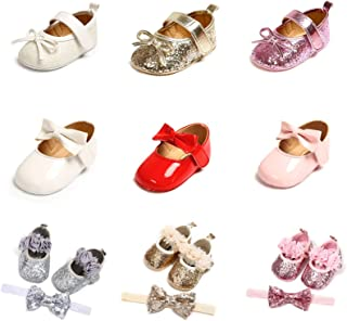 Bebeii Unisex Baby Boys Girls Canvas Shoes Basic Soft Anti-Slip Sole Sneakers Infant Toddler First Walker Crib Shoes 0-18 Months