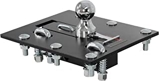 CURT 61052 Black, 2-5/16-Inch Bed Folding Gooseneck Hitch (30,000 lbs. GTW, 2-5/16