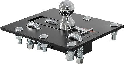 CURT 61052 Black, 2-5/16-Inch Bed Folding Gooseneck Hitch (30,000 lbs. GTW, 2-5/16