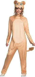 Disney Animated Lion King Adult Nala Jumpsuit Costume
