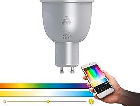 EGLO connect LED GU10 lamp, Smart Home lamp, 5 Watt (gelijk aan 29 Watt), 400 Lumen, GU10 LED dimbaar, kleurtemperatuur en...
