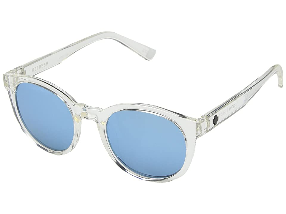Spy Optic Hi-Fi (Crystal/Gray/Light Blue Spectra) Sport Sunglasses