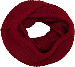 Women's Winter Warm Thick Chunky Rib Knit Infinity Loop Scarf Beauty Gift