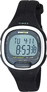 Timex Women's Digital Watch, Analog Display and Resin Strap TW5M19600