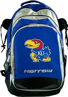Broad Bay Kansas Harrow Field Hockey Backpack KU Jayhawks Hockey Gear Bag Blue