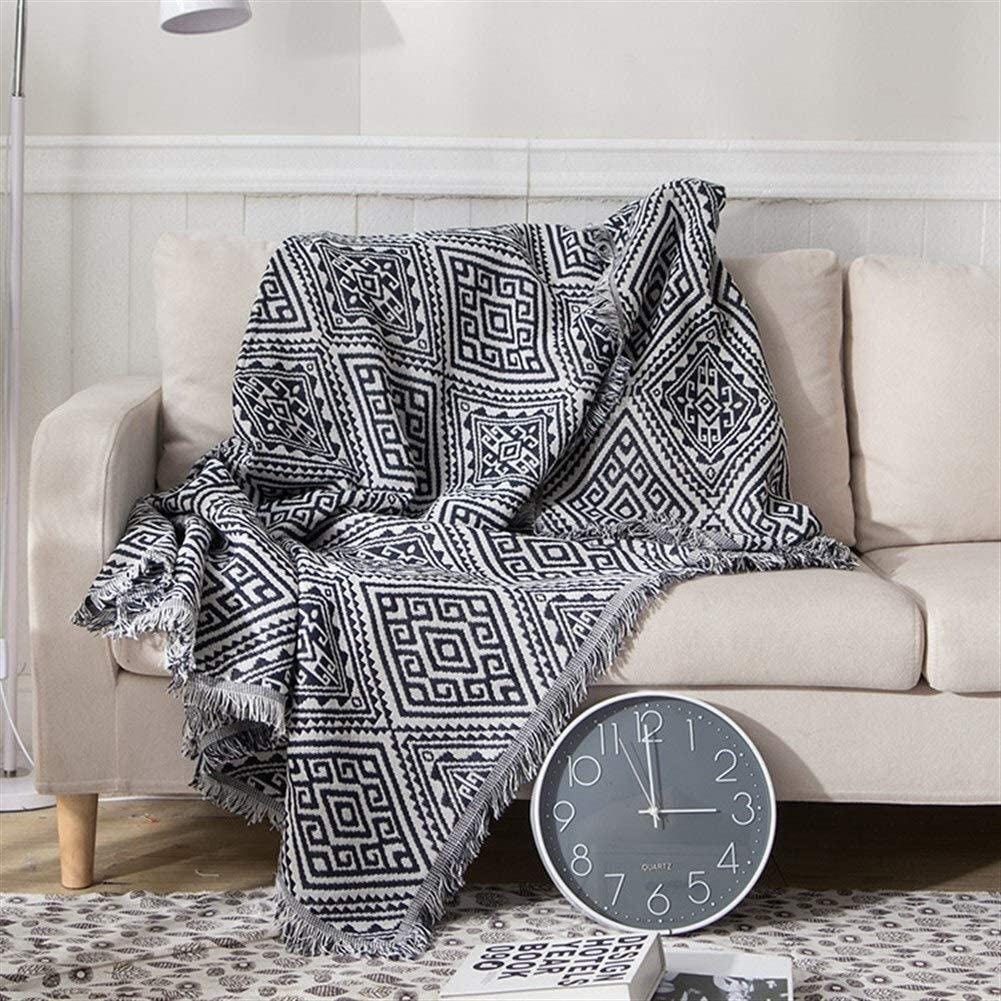 LIRONGXILY Today's only New Orleans Mall Electric Heated Blanket Thro Thicken Herringbone Sofa