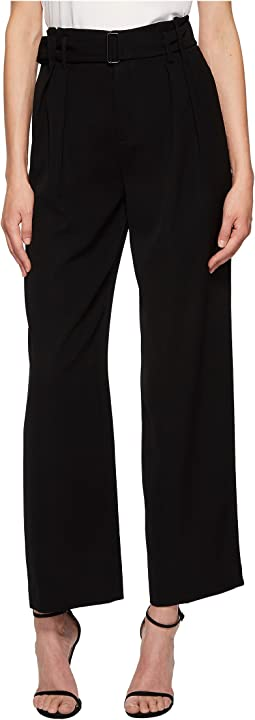 Vince - Belted Wide Leg Pants