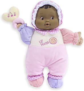 JC Toys Lil' Hugs Hispanic Pink Soft Body - Your First Baby Doll – Designed by Berenguer – Ages 0+