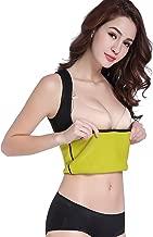 Bakerdani Womens Hot Sweat Tank Top Neoprene Body Shaper Sauna Vest for Workout