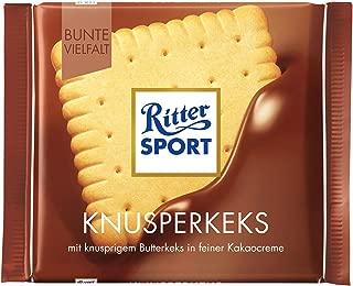 Ritter Sport Butter Biscuit Chocolate Bar Candy Original German Chocolate 100g/3.52oz