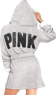 Pink Sherpa Cozy Short Robe