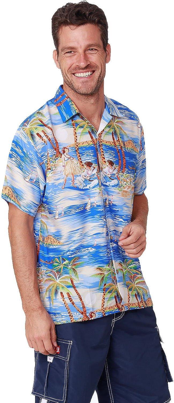 Jumaocio Hawaiian Shirt for Men Casual Button Down Short Sleeved