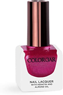 Colorbar Nail Lacquer, Sparkle Pink, 12 ml